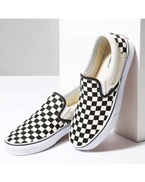 נעלי ואנס קלאסיק סליפ-און Vans Shoes Classic Slip-On B/W