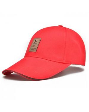 כובע בייסבול אופנתי אדום Baseball Cap HS