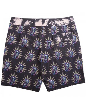 מכנסי גלישה lost Thriller Boardshort Black Grim Reefer