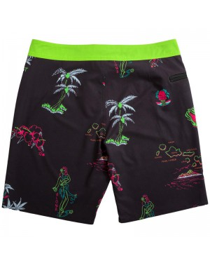 מכנסי גלישה lost Session Boardshort Black West Side