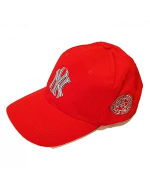 כובע בייסבול אופנתי אדום Baseball Cap NY